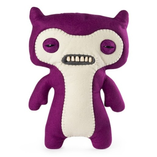 Fuggler 30cm Funny Ugly Monster - Scuffy Fox Monster Purple