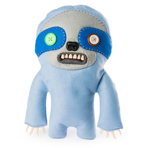 Fuggler 30cm Funny Ugly Monster - Light Blue Sickening Sloth