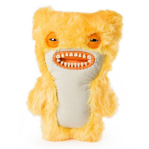 Fuggler 30cm Funny Ugly Monster - Yellow Furry Awkward Bear