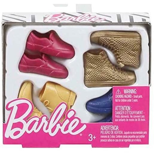 Barbie   Kens Shoes 4 Pack