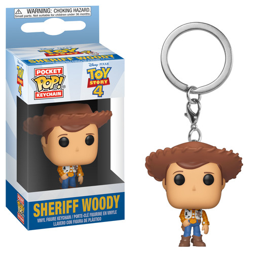 Funko Pocket Pop! Keychain - Toy Story 4 (Styles Vary)