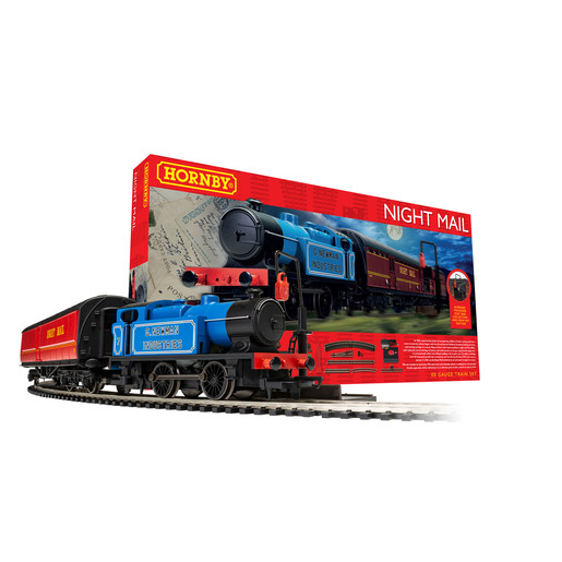 Hornby Night Mail Train Set