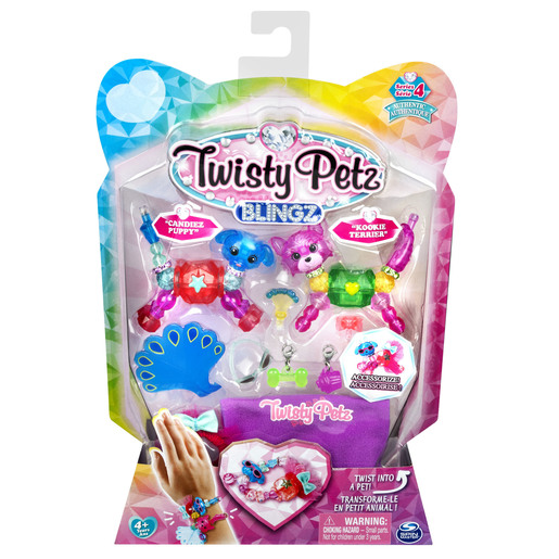 Twisty Pet Blingz Bracelet Set - Candiez Puppy & Kookie Terrier