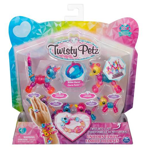 Twisty Petz Series 4 - Unicorn Family Collectible Bracelet Set