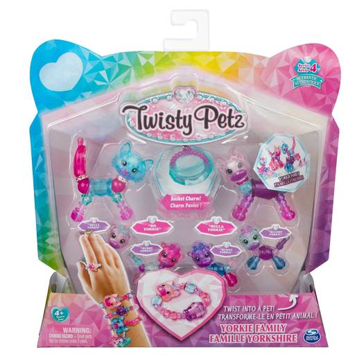 Twisty Petz Series 4 - Yorkie Family Collectible Bracelet Set