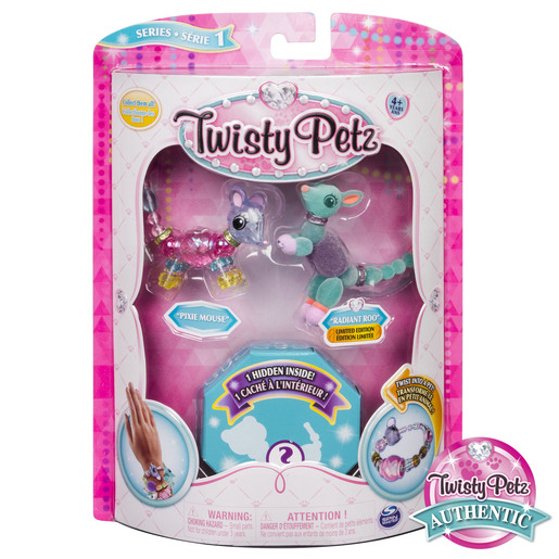 Twisty Petz Bracelet Set - Pixie Mouse, Radiant Roo & Surprise