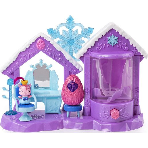 Hatchimals CollEGGtibles - Glitter Salon Playset