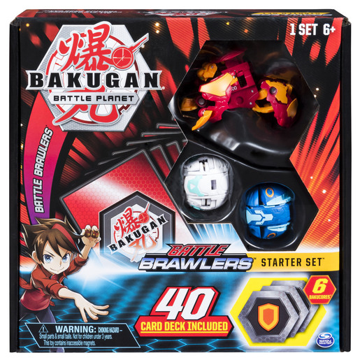 Bakugan - Battle Brawlers Starter Set (Styles Vary)