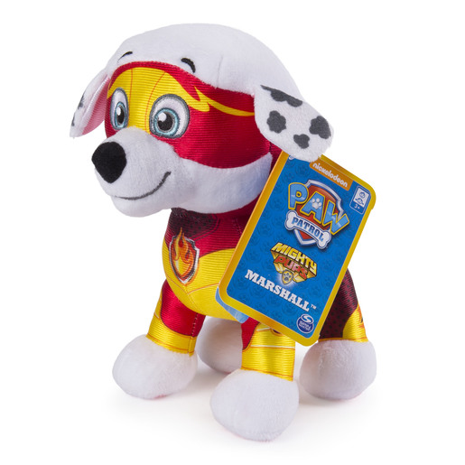Paw Patrol 20cm Mighty Pup Plush - Marshall from TheToyShop