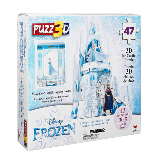 Disney Frozen 2: 3D Plastic Hologram 47pc Puzzle