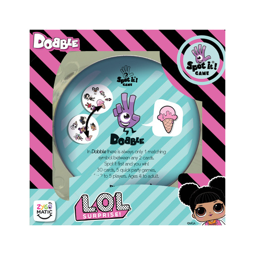 Dobble Card Game - L.O.L Surprise!