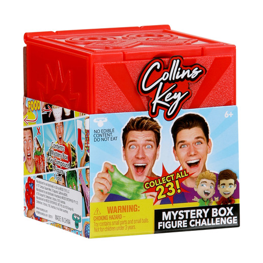 Collins Key Mystery Box Figure Challenge (Styles Vary)