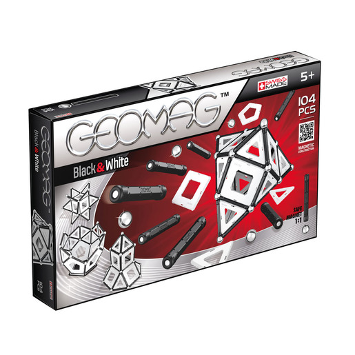 Geomag Classic Black & White - 104 Pieces