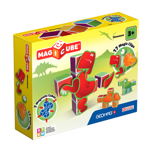 Geomag Magicube Dinosaurs Construction Set