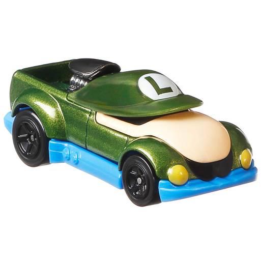 Hot Wheels Super Mario Car - Luigi