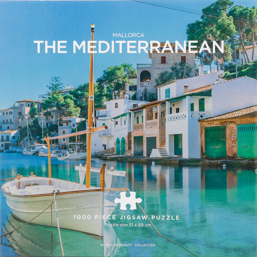 The Mediterranean Sea 1000pc Puzzle