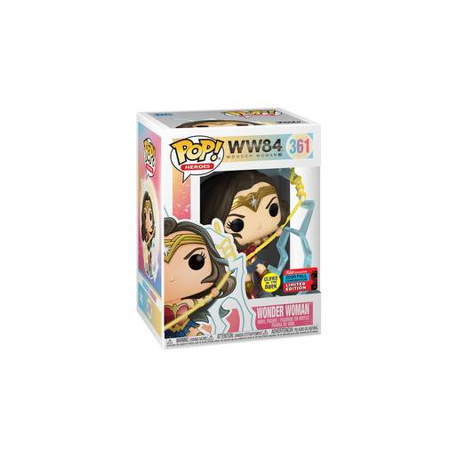 Funko Pop! Wonder Woman - 1984  (UK Exclusive)