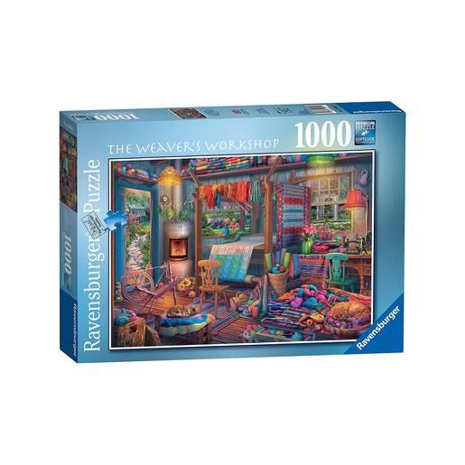 Ravensburger 1000 Puzzle - The Weavers Workshop