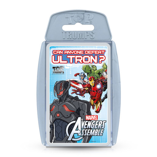 Avengers Assemble Top Trumps Card Game