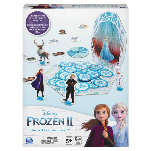 Disney Frozen 2 - Snowflake Journey Game