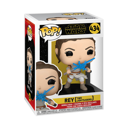 Funko Pop! Star Wars: Episode 9 - Rey (2 Light Sabres)