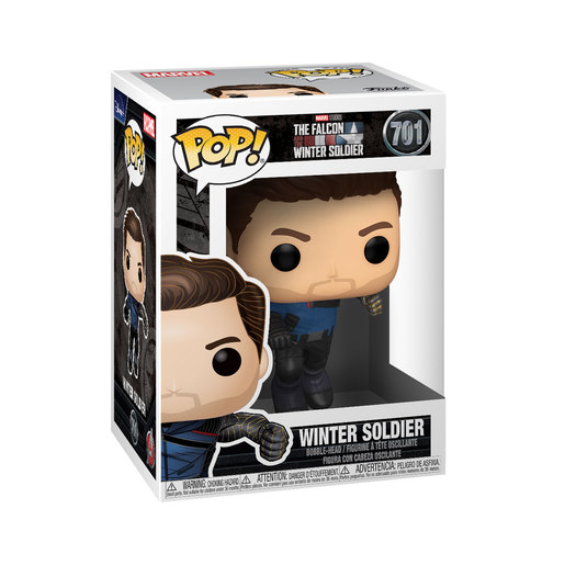 Funko Pop! Marvel: The Falcon & Winter Soldier - The Winter Soldier