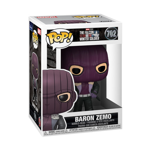 Funko Pop! Marvel: Baron Zemo