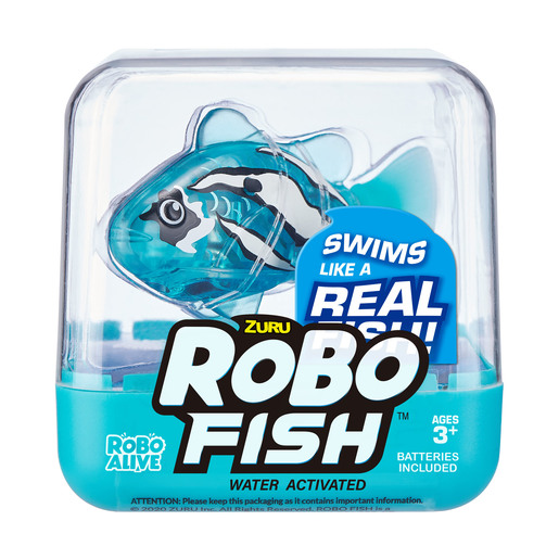 Robo Fish by Zuru - Light Blue