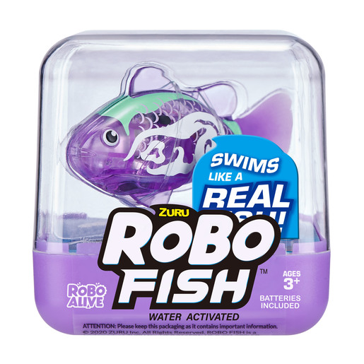 Robo Fish by Zuru - Purple