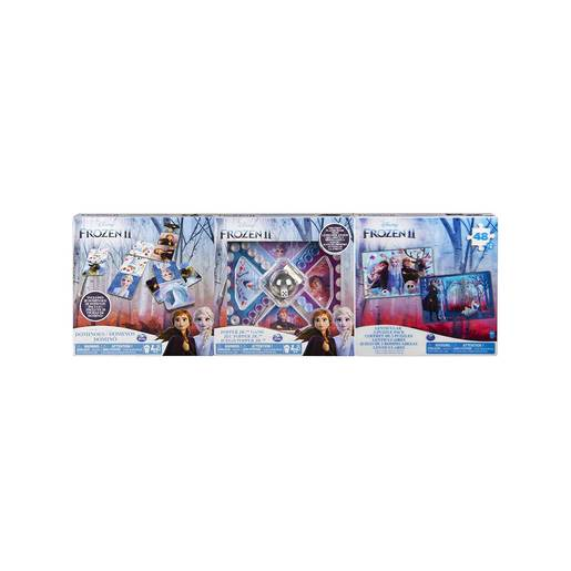 Frozen 2 Game and Puzzle Collection - 3 Pack Bundle