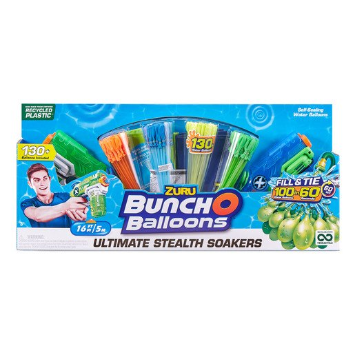 Bunch O Balloons Ultimate Stealth Soakers By ZURU