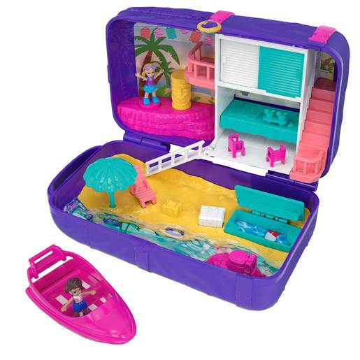 Polly Pocket Playset Hidden Places Beach Vibes Backpack