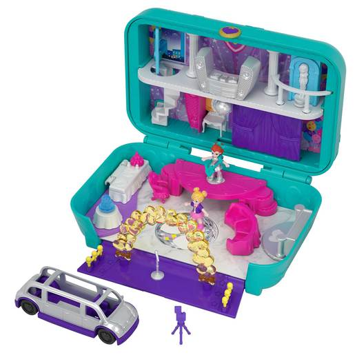 Polly Pocket Playset Hidden Places Dance Par-taay! Case