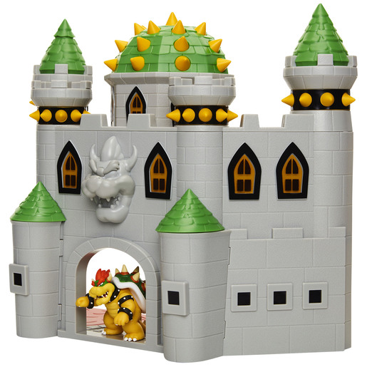 Super Mario Bowser's Castle Playset with 6cm Figure