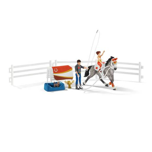 Schleich Horse Club Mia's Vaulting Riding Set Playset