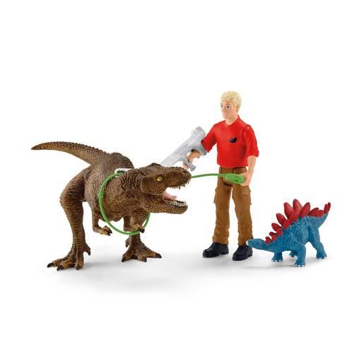 Schleich Dinosaurs Tyrannosaurus Rex Attack Playset from TheToyShop