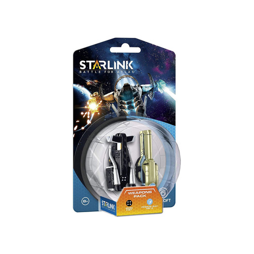 Starlink Weapons Pack - Iron Fist & Freeze Ray MK-2 Bundle (20 Pieces)