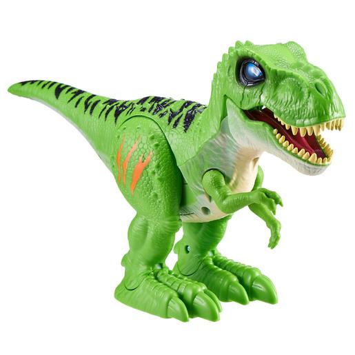 Robo Alive Attacking T-Rex by Zuru - Green