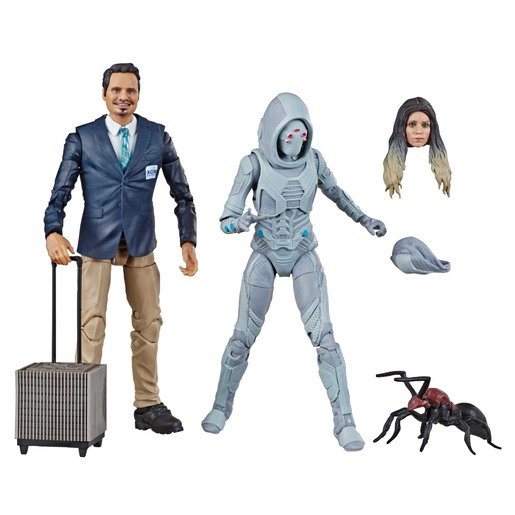 Marvel Legends Series Ant-Man and the Wasp - X-con Luis and  Marvel's Ghost