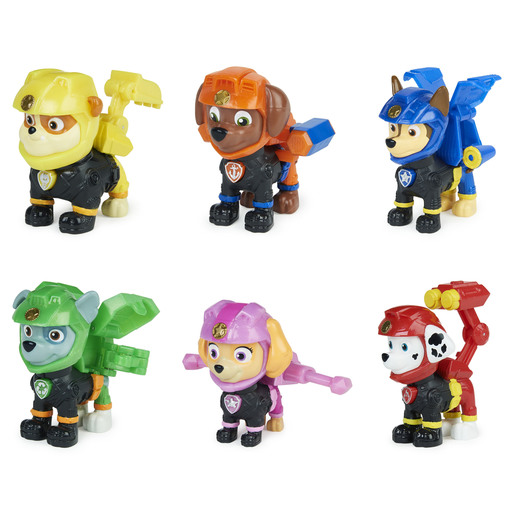 Paw Patrol - Moto Pups Rubble Collectible (Styles Vary)