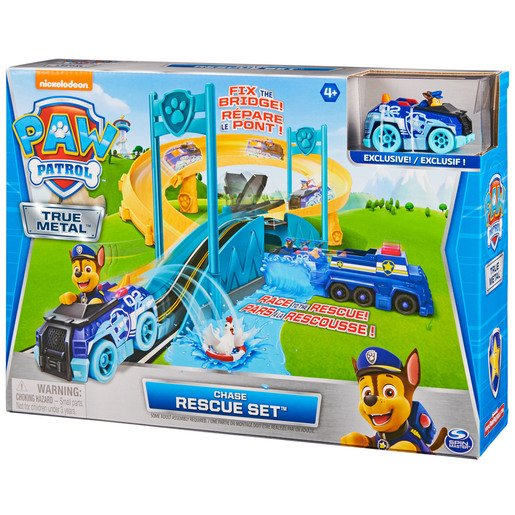 Paw Patrol - True Metal Chase Rescue Track Set