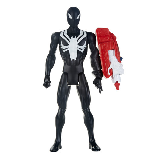 Marvel Spider-Man Titan Hero 30cm Figure - Black Suit Spider-Man