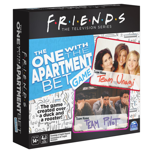 Friends - The One with the Apartment Bet Game
