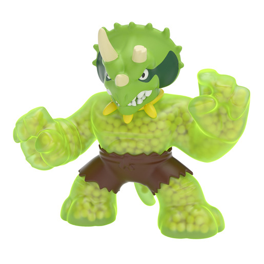 Heroes of Goo Jit Zu Dino Power Figure - Tri Tops The Triceratops