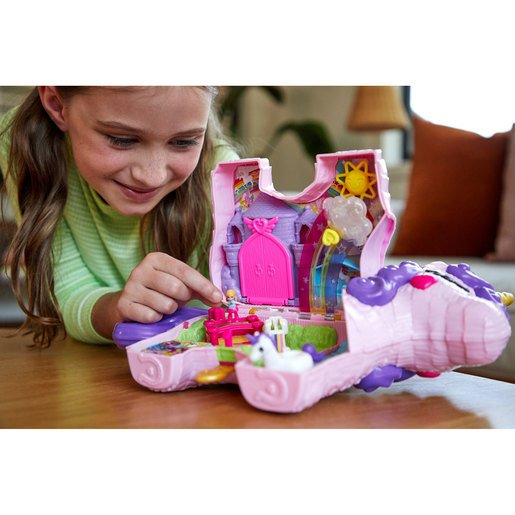 Polly Pocket Playset Unicorn Party Playset