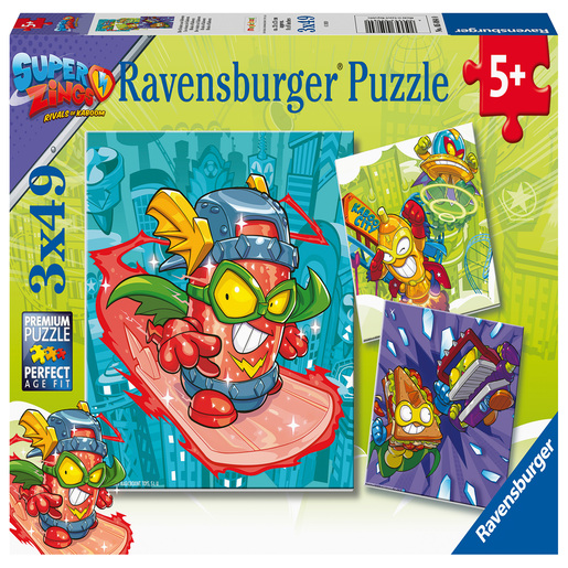 Ravensburger SuperZings 3x 49 Piece Puzzle