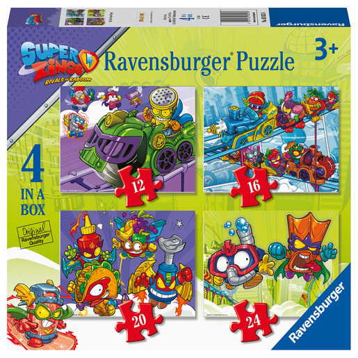 Ravensburger SuperZings 4 in Box Puzzle