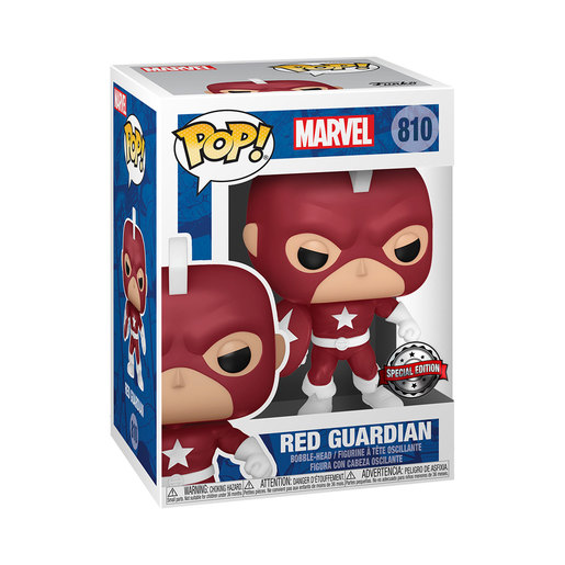Funko Pop! Marvel: Red Guardian (Special Edition)