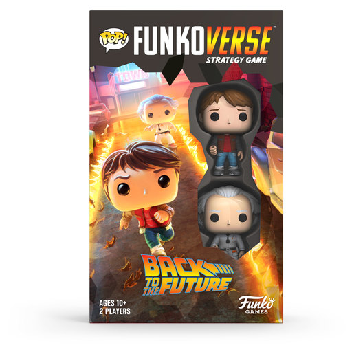 Funkoverse: Back To The Future Marty & Doc