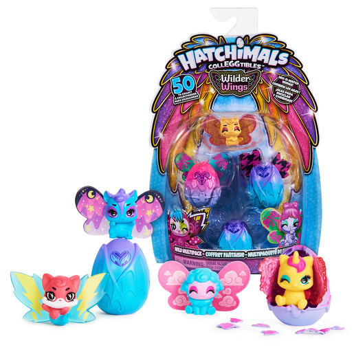 Hatchimals CollEGGtibles - Wilder Wings (Styles May Vary)